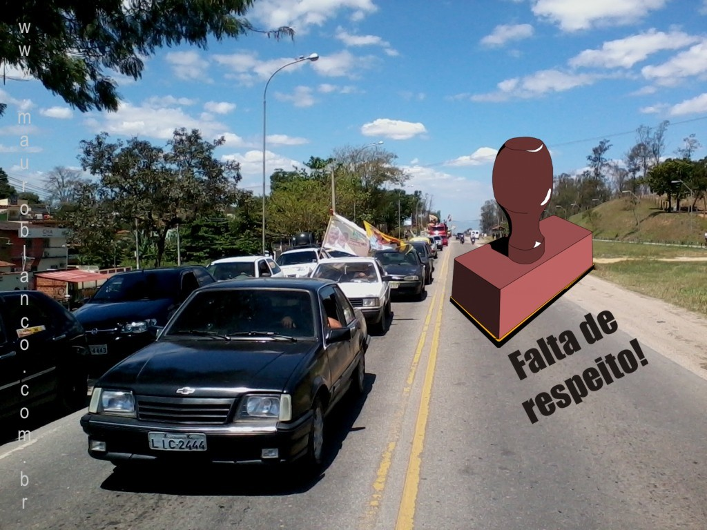 Carreata do desrespeito